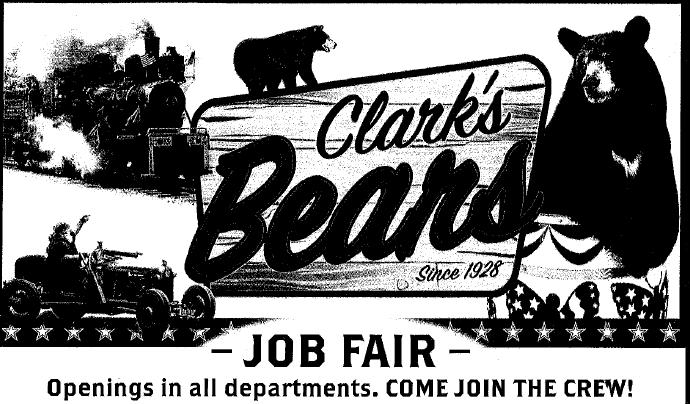 Clarks Trading Post Job Fair 2021
