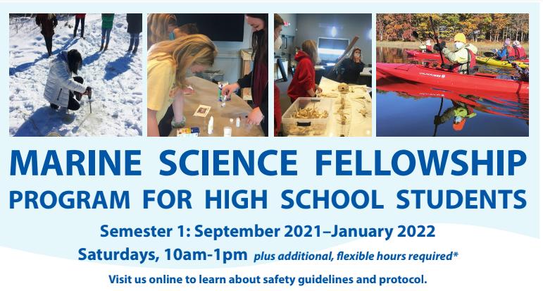 MARINE SCIENCE FELLOWSHIP PROGRAM FOR HIGH SCHOOL STUDENTS