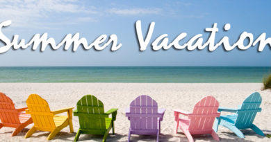 WHS is on Summer Vacation – We will be back on September 3rd!